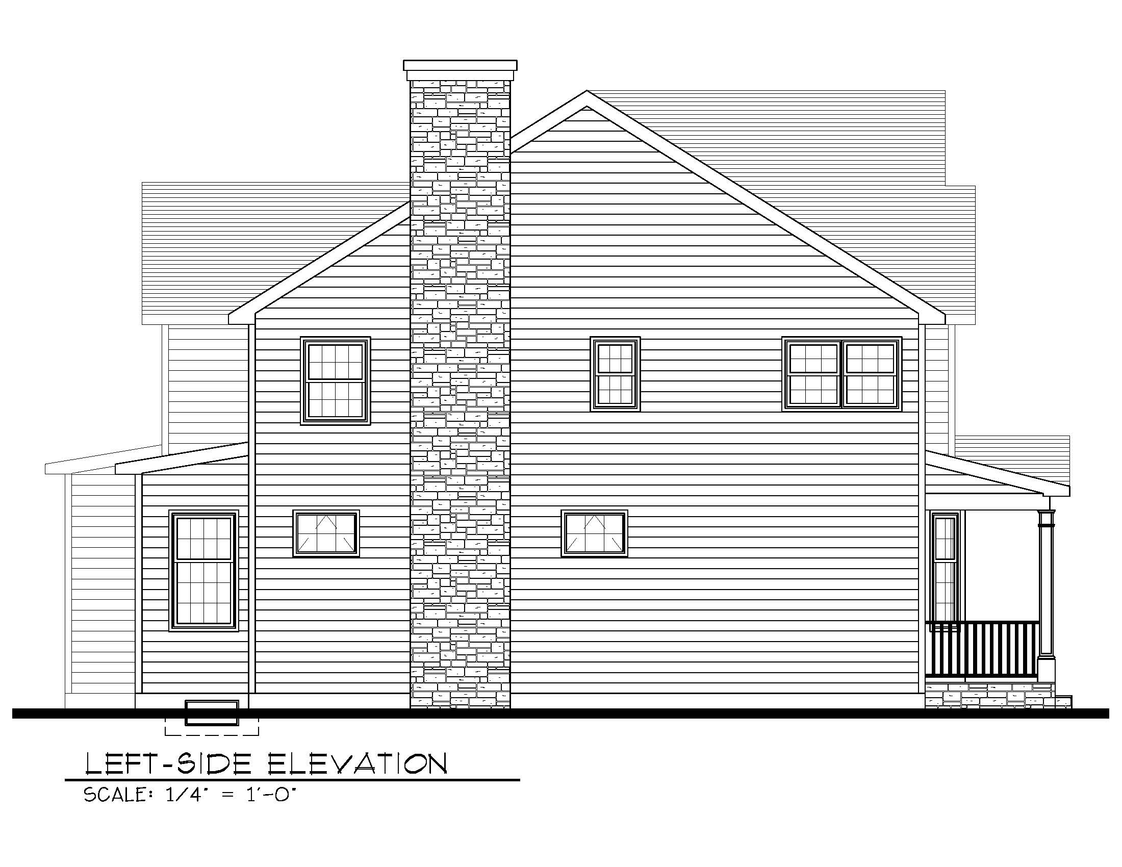 843 Left Side Elevation