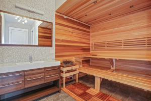 Basement Bathroom with Sauna II