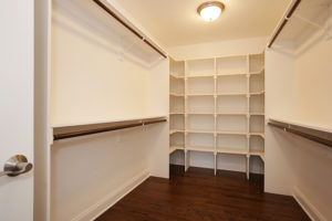 627 Leigh Drive, Westfield- Master Closet