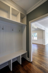 648 Maple Street, Westfield- Mud Room Cubbies