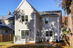 648 Maple Street, Westfield- Rear Elevation