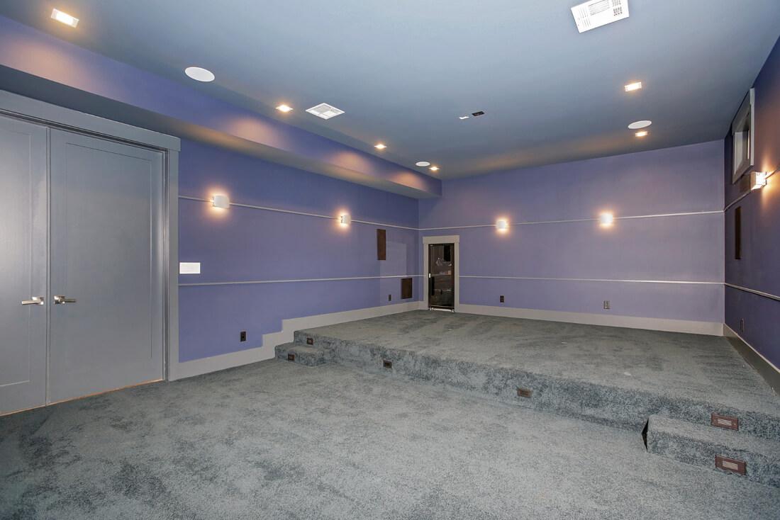 Basement Gym Room