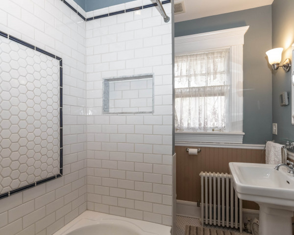 Before - Original Bathroom