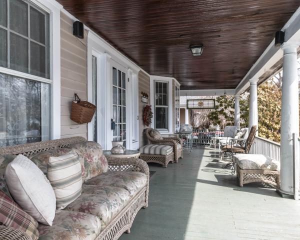 Before - Original Porch