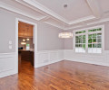 Dining Room with Coffer Ceiling