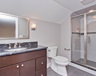Attic Bathroom Shower