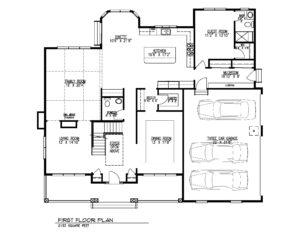 23 Skyline in Warren - First Floor Plan