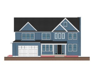 Tamaques Way Front Elevation