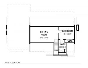 Attic Plan 728 Tamaques Way