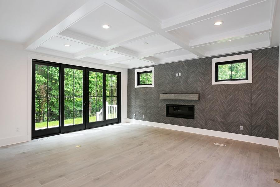 Family Room Premier Design Custom Homes