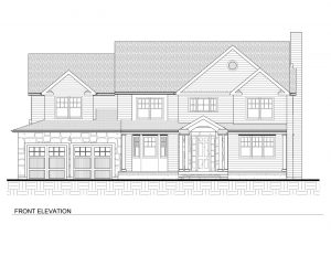 Front Elevation 728 Tamaques Way Westfield NJ