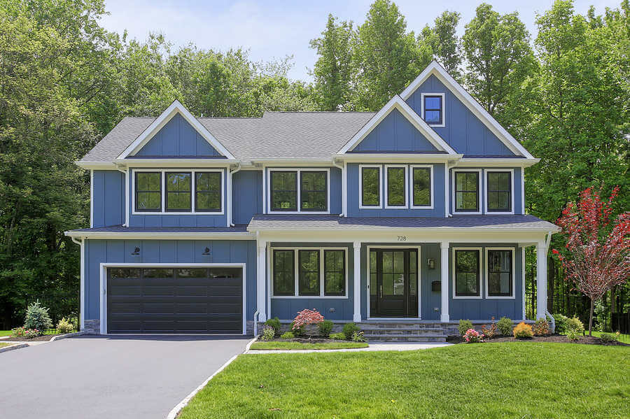 Westfield NJ New Construction: The Modern Farmhouse