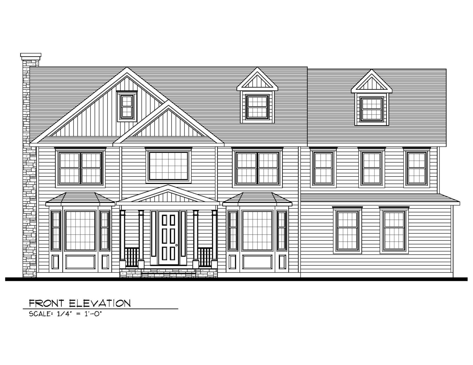 211 Golf Edge Front Elevation