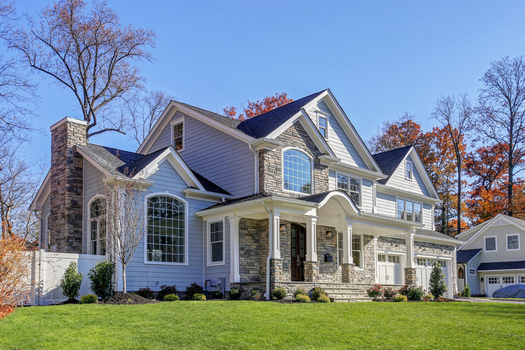 Curb Appeal Custom Home in Westfield NJ
