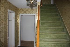 Before - Original 1st Floor Foyer