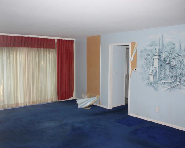 Before - Original Living Room