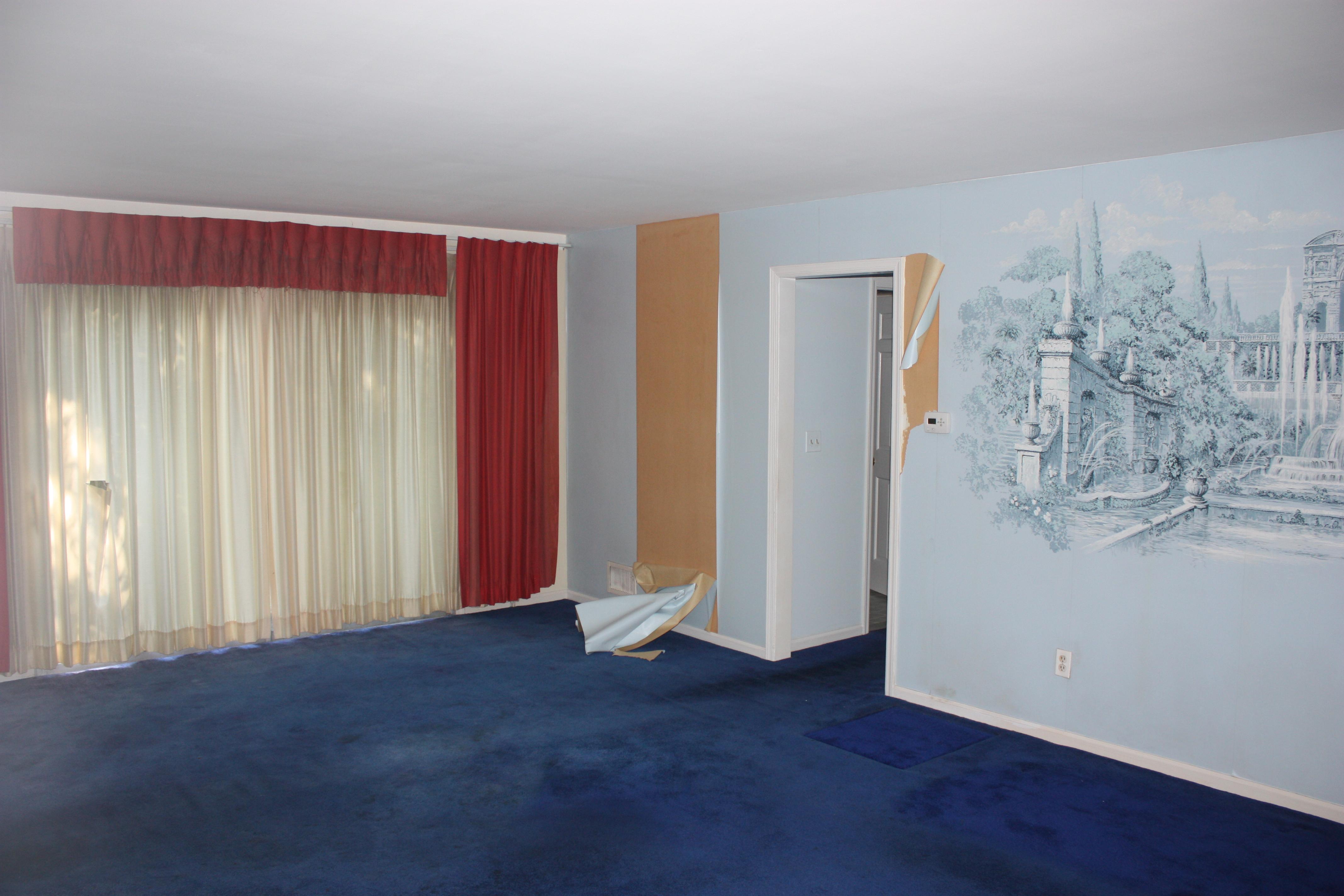 Before – Original Living Room
