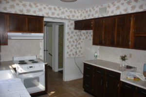 Before - Original Kitchen