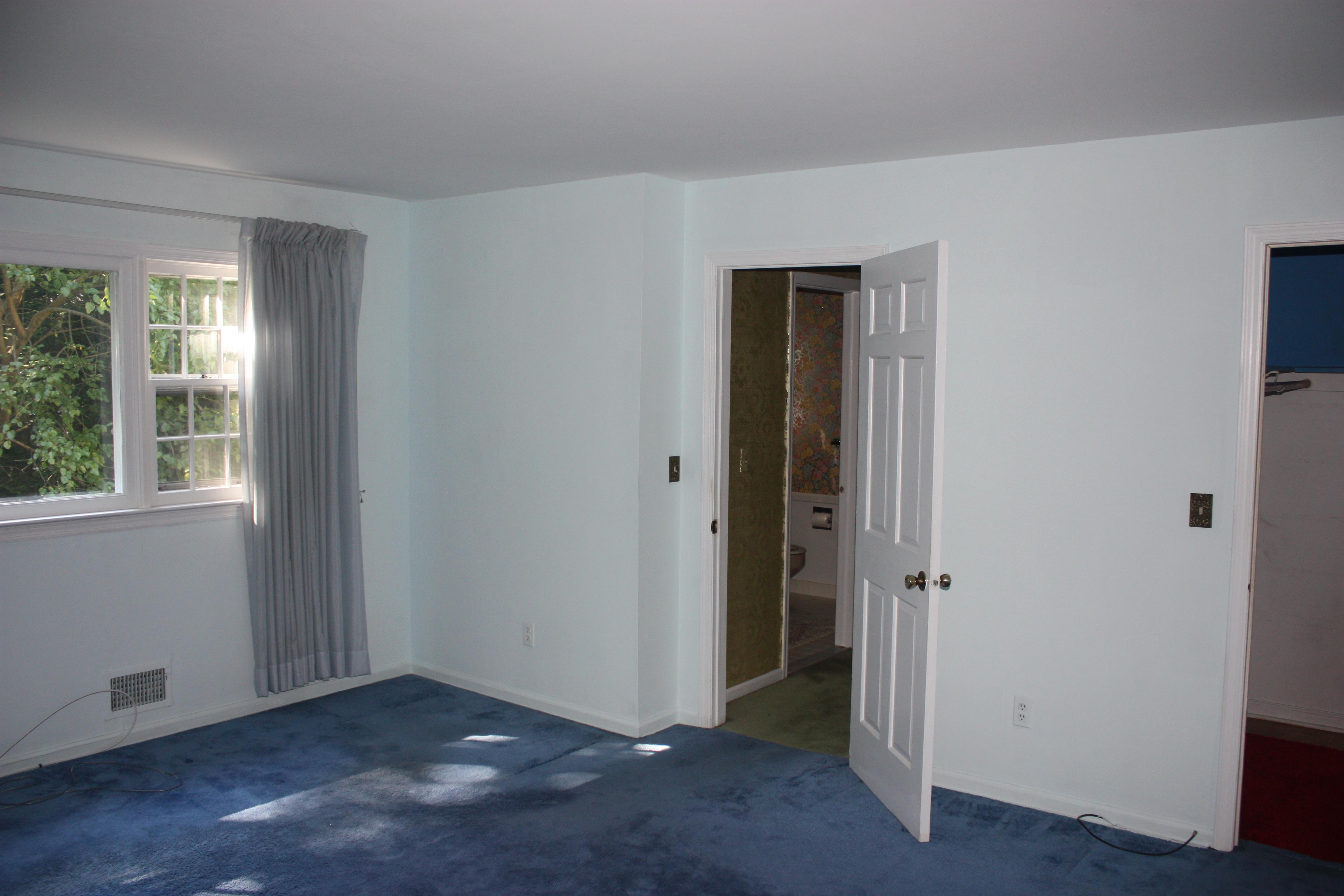 Before – Original Bedroom