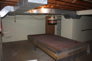 Before - Original Basement