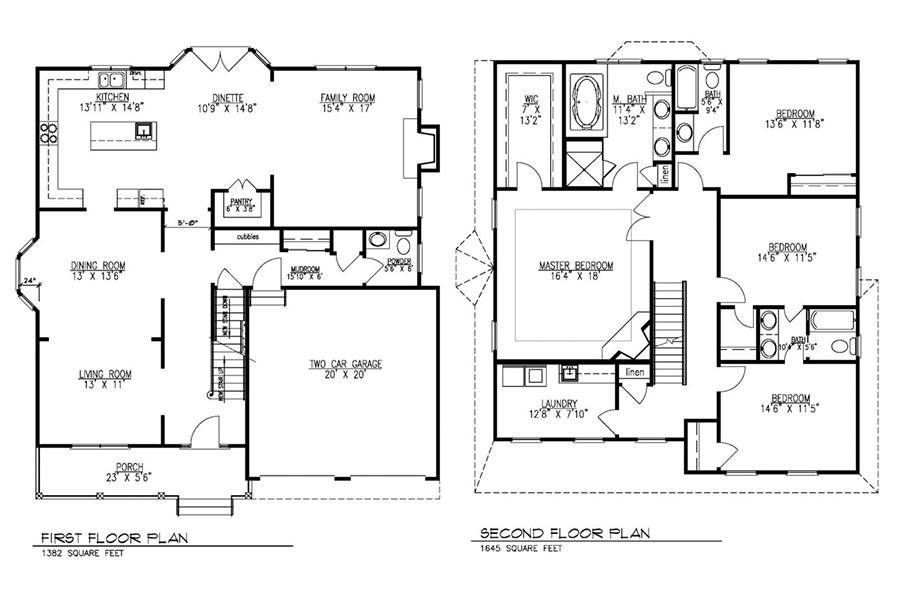 621 green briar floor plans