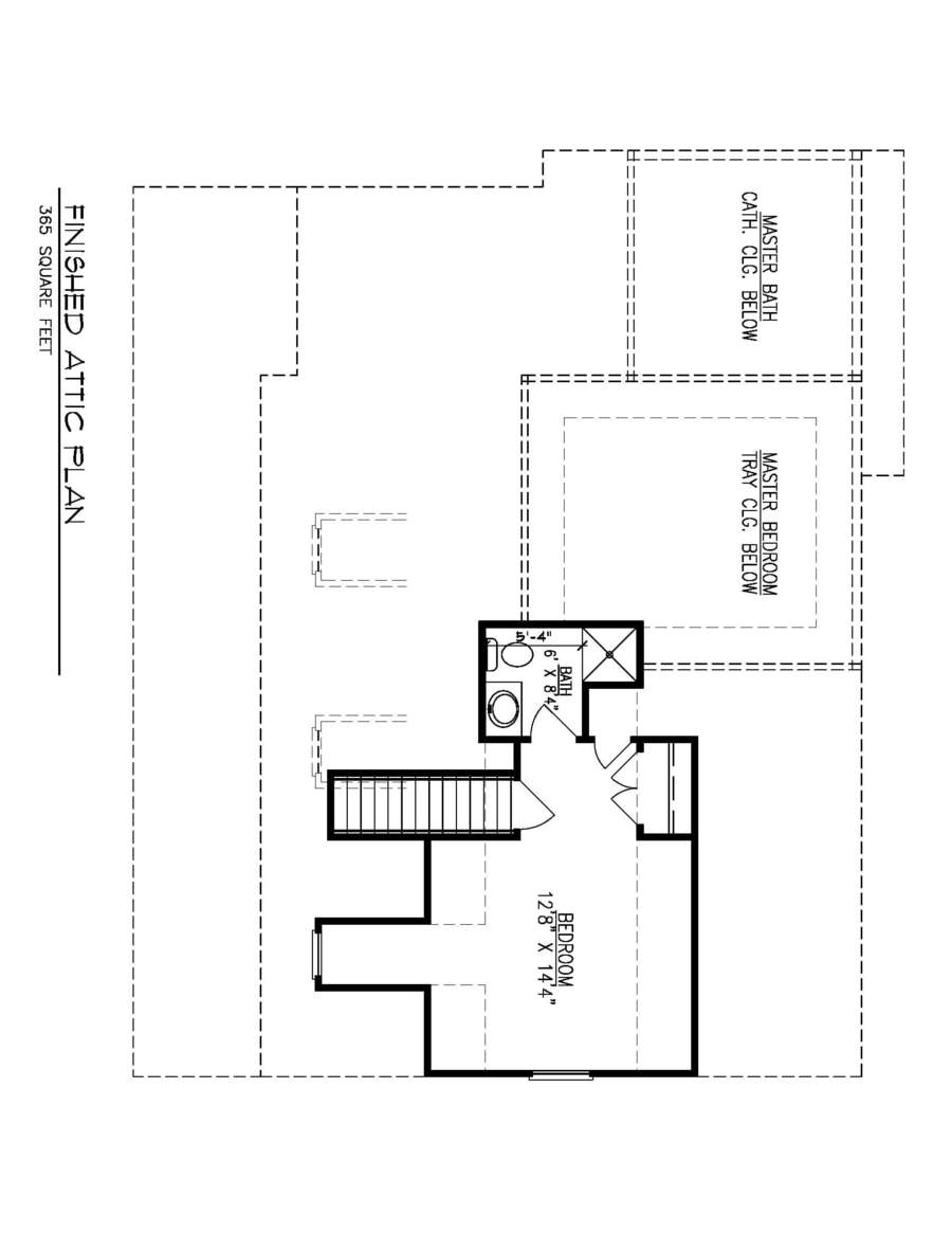 Finished Attic Plan-01-31-19 Flipped