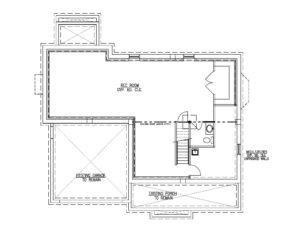 Finished Basement Plan