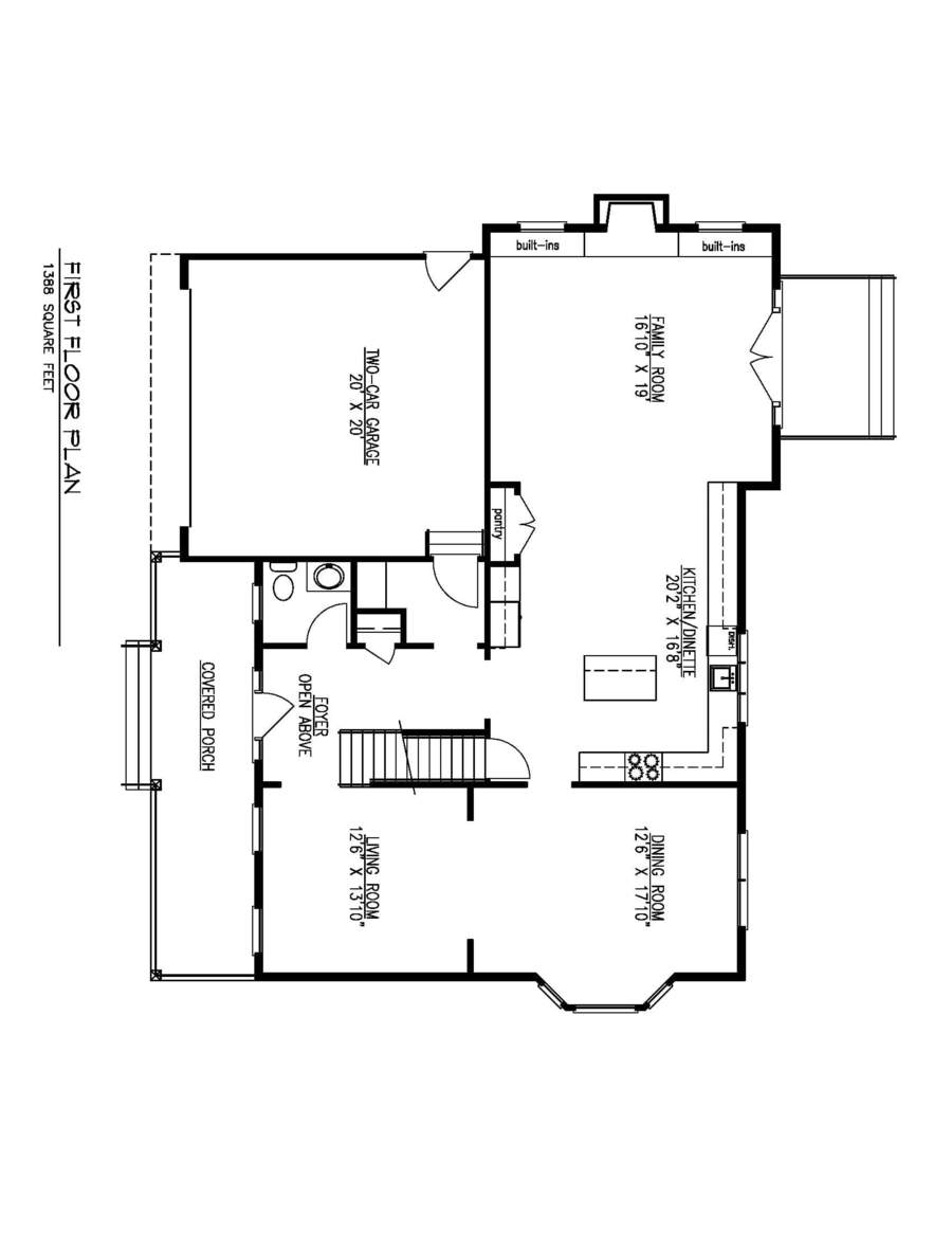 First Floor Plan-01-31-19 Flipped