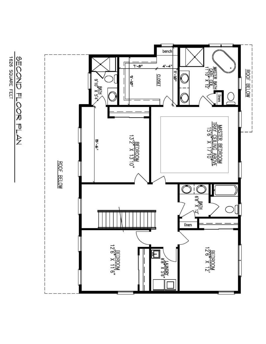 Second Floor Plan-01-31-19 Flipped