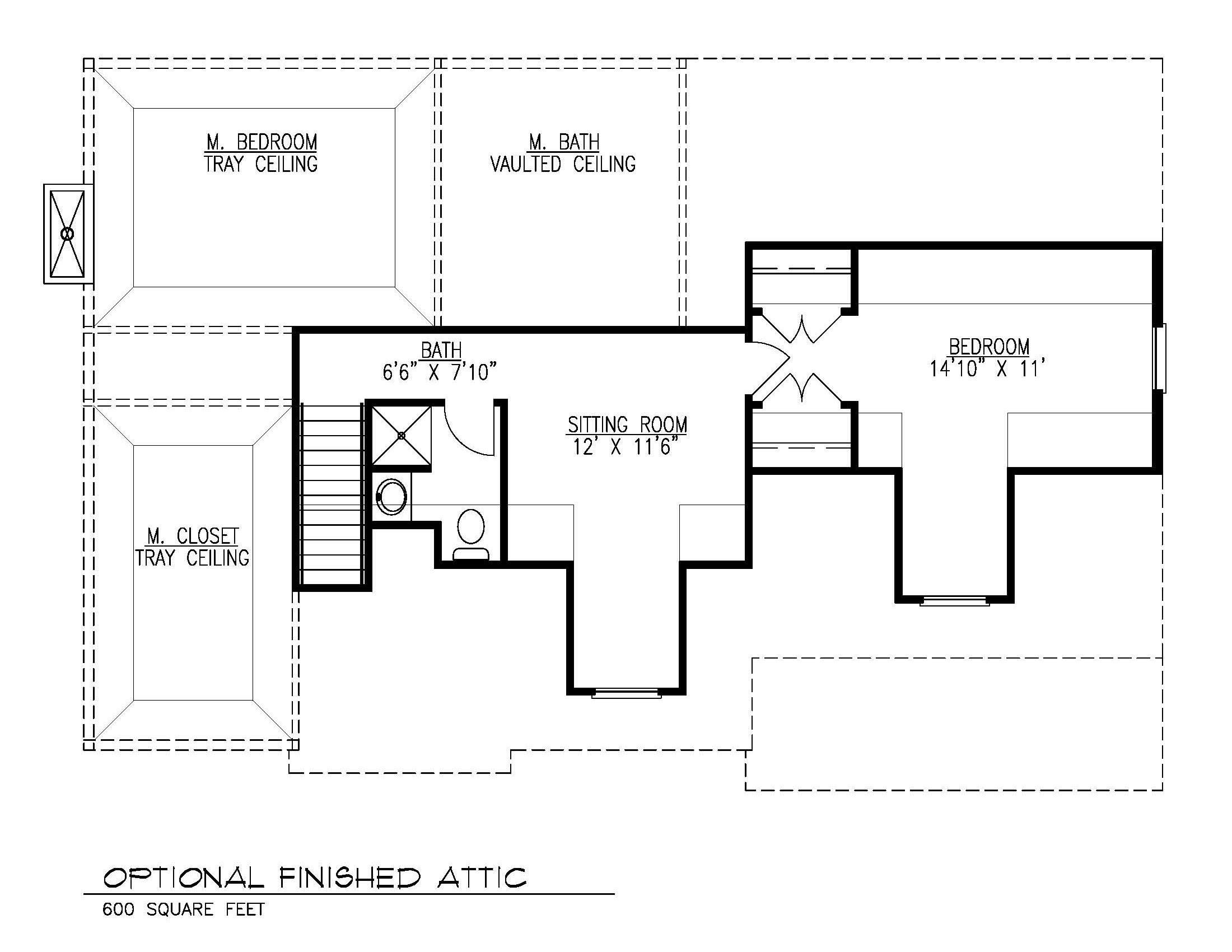 Future Attic Floor Plan