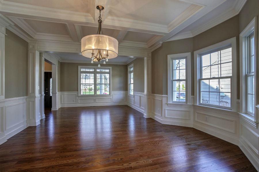 premier design custom home living room