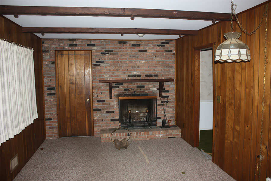 normandy drive fireplace makeover
