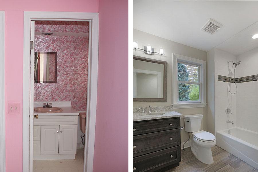 premier design bathroom makeover