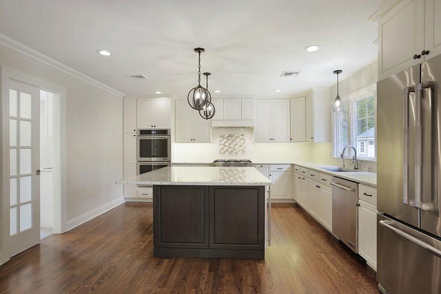 premier design custom homes kitchen