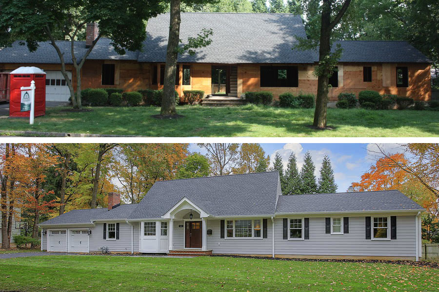 premier design porch before and after