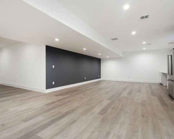 Finished Basement Rec Room