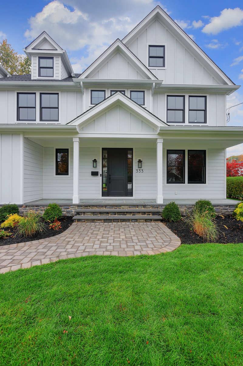 Front Porch clark nj custom home