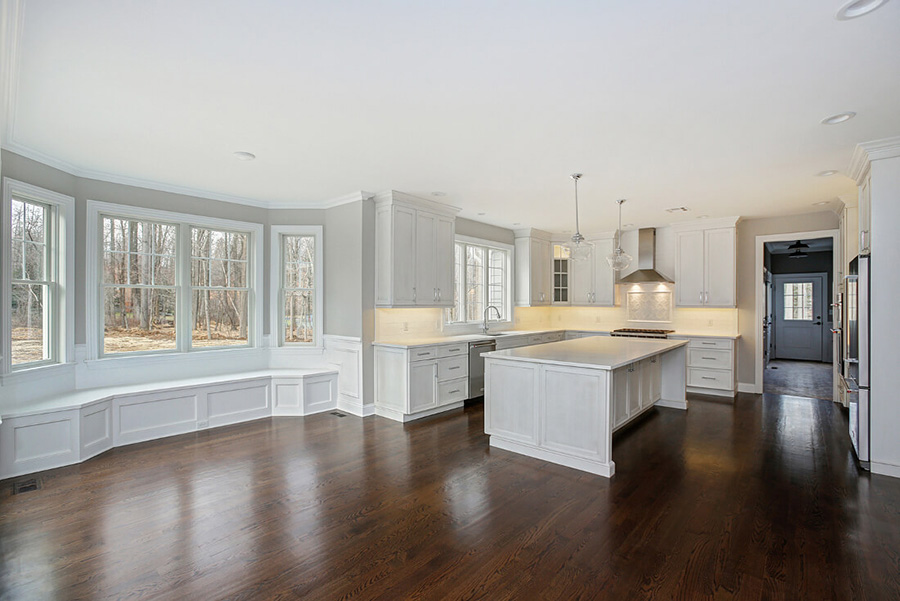 Custom Built Kitchen Dinette By Premier Design Custom Homes