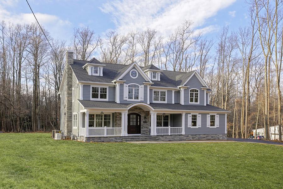 Modern Colonial: A Custom Home Build in Warren, NJ