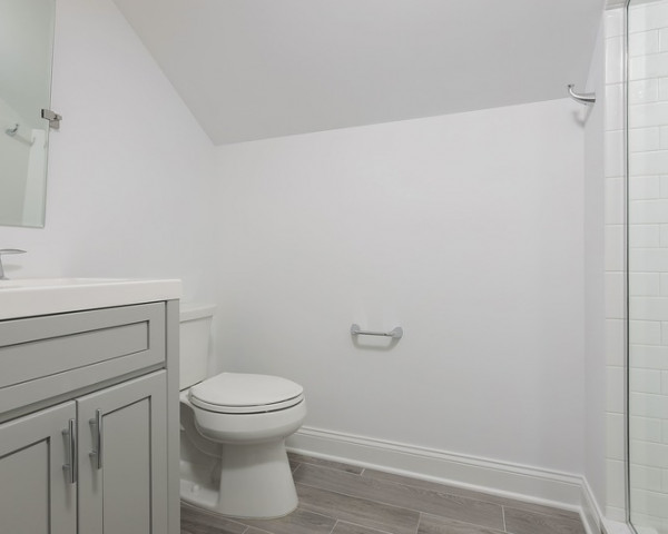 Finished Attic Bathroom