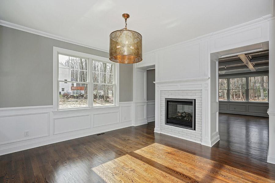 Premier Design Custom Home Custom Build Living Room