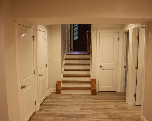 Lower Level Hallway Area