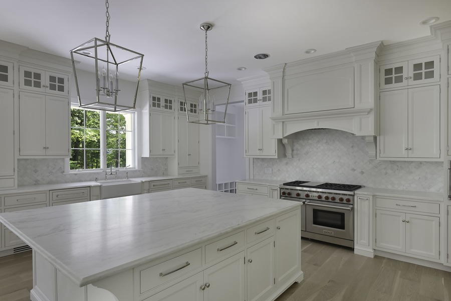 Kitchen of a Recent Project From August 2019 by Premier Design Custom Homes NJ