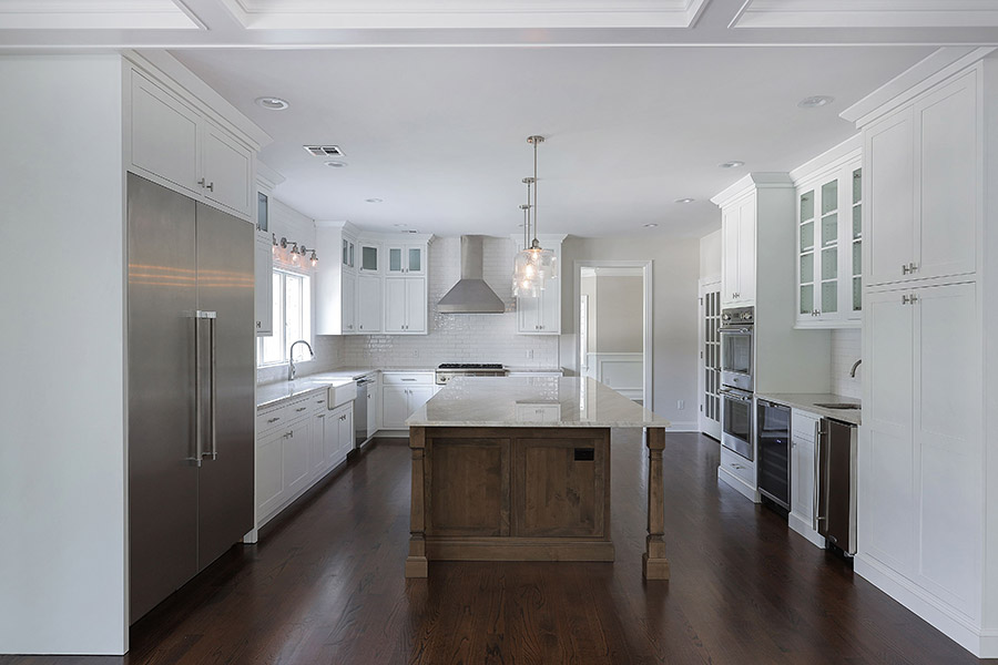 Customized-kitchen-cabinetry-in-a-custom-designed-home