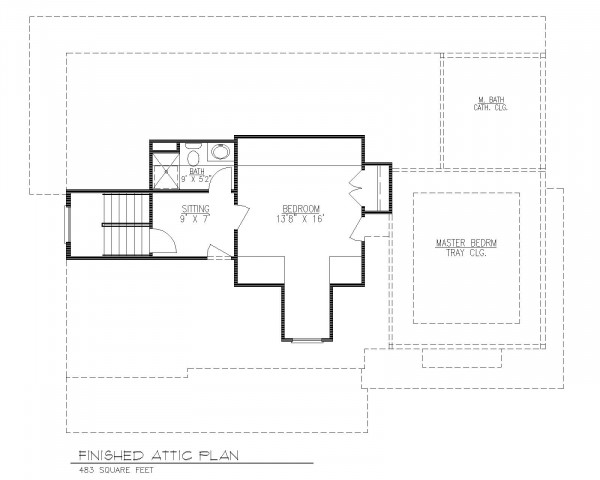 Future Finished Attic Plan