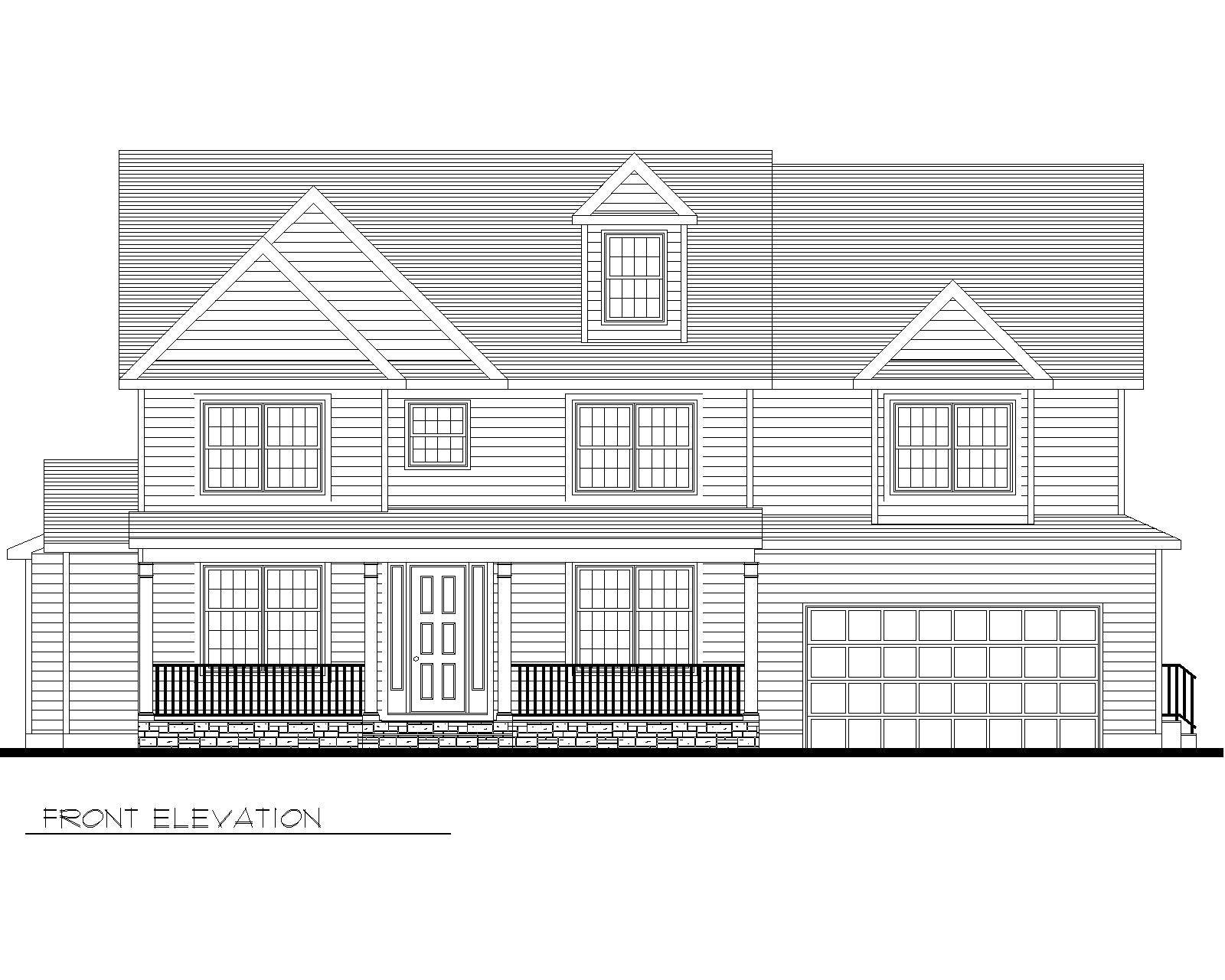 39 Carol Marketing Drawings Front Elevation