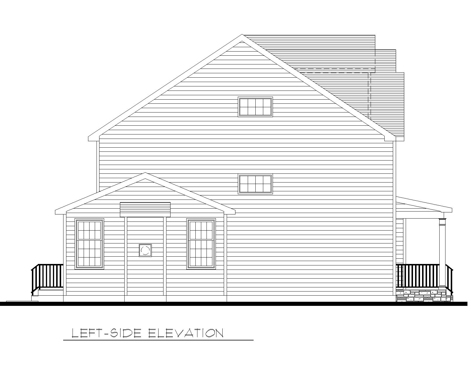 39 Carol Marketing Left Side Elevation