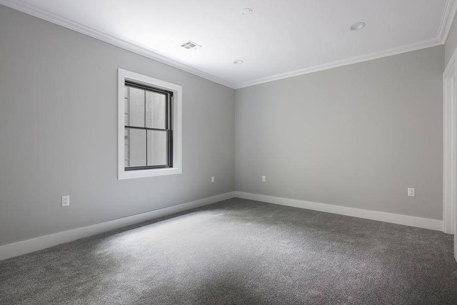 Finished Basement Bedroom