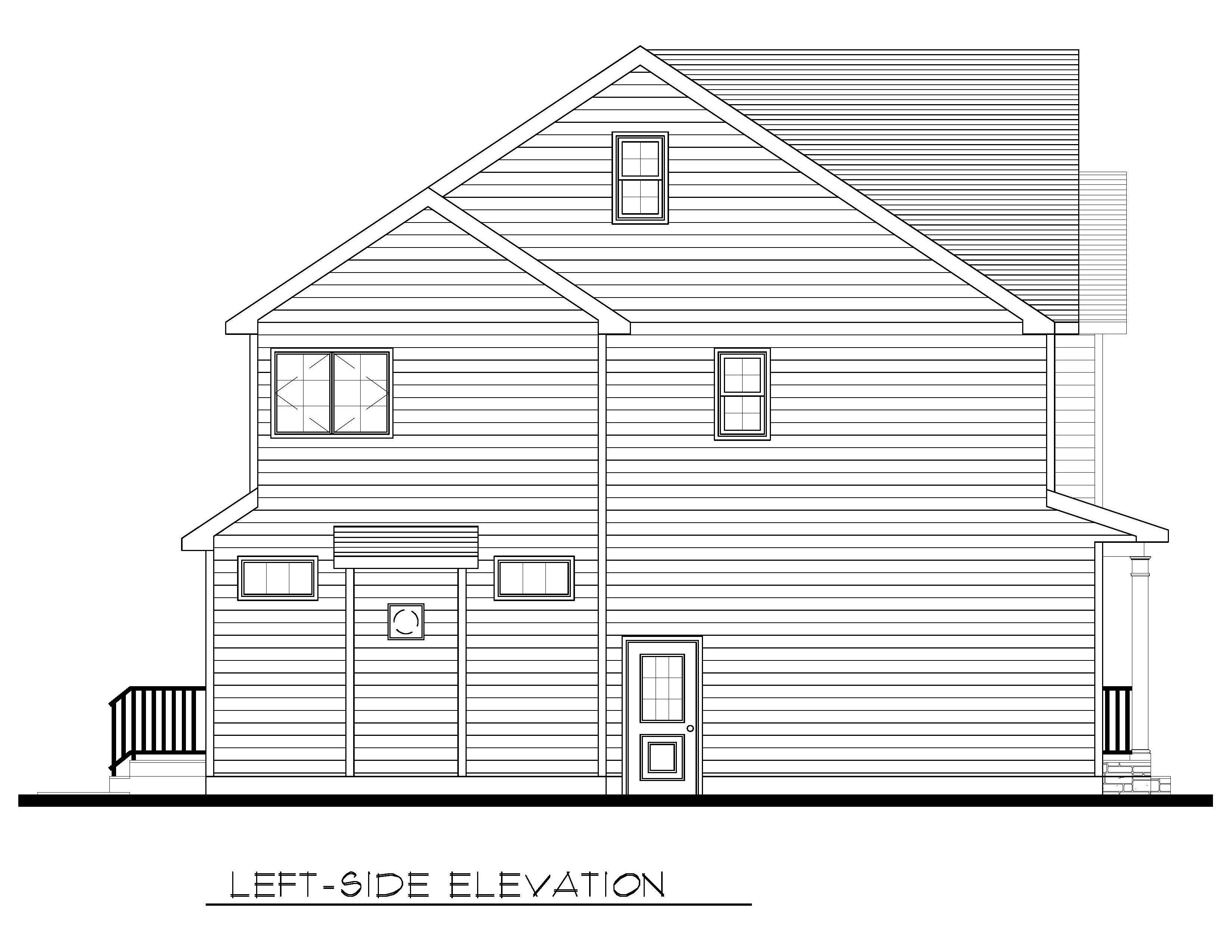 Left Side Elevation-08-31-2020