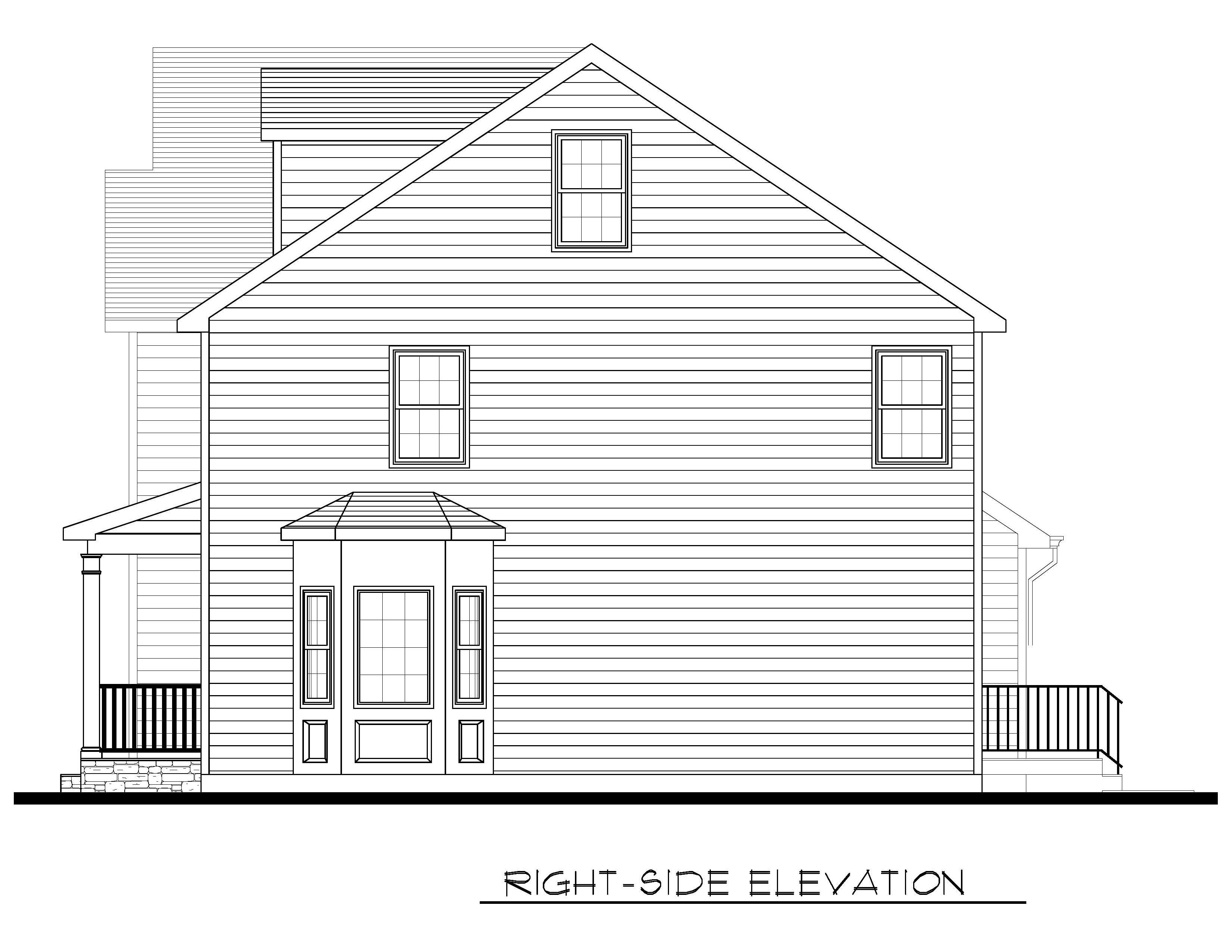 Right Side Elevation-08-31-2020
